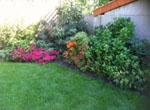 jardinier paysagiste 95 massif arbustes fleurs